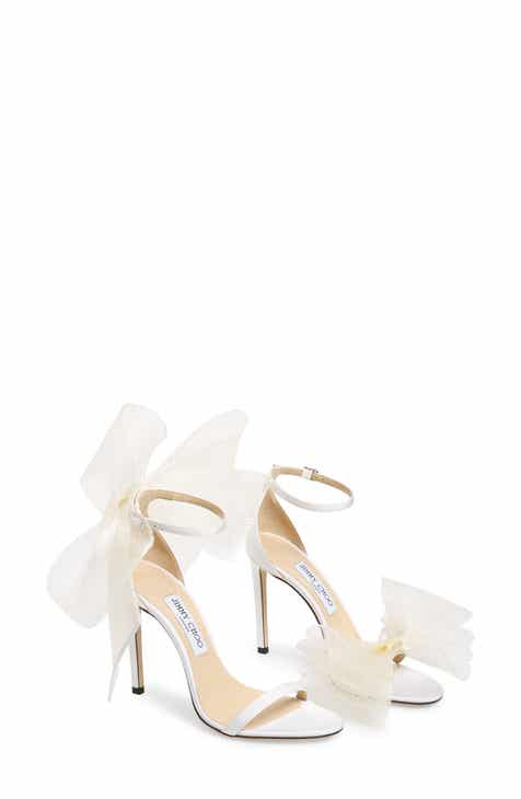 cd2ae27fd Jimmy Choo Aveline Bow Ankle Strap Sandal (Women)