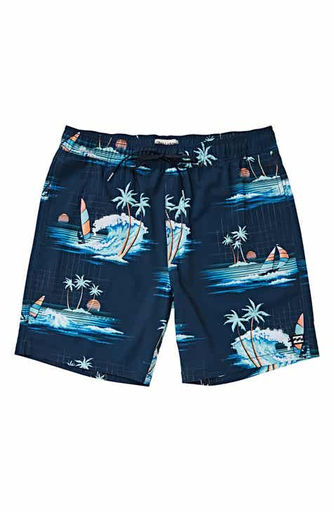 4bdd98d2e3 Billabong Sundays Layback Swim Trunks (Toddler Boys)