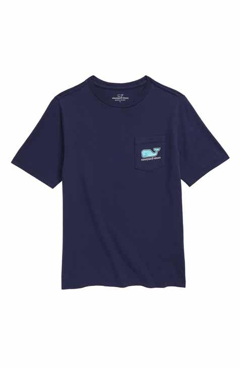 74d0e07db vineyard vines Summer Sailing Whale T-Shirt (Big Boys)