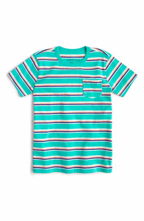43c98daed900 crewcuts by J.Crew Stripe Pocket T-Shirt (Toddler Boys, Little Boys & Big  Boys)