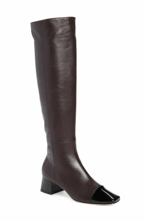 906de4109 Gianvito Rossi Cap Toe Over the Knee Boot (Women)