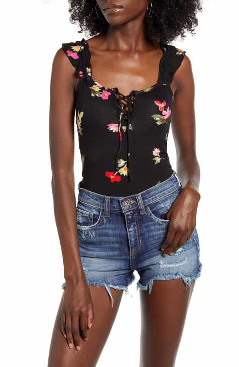 Billabong Sweet Peri Floral Bodysuit