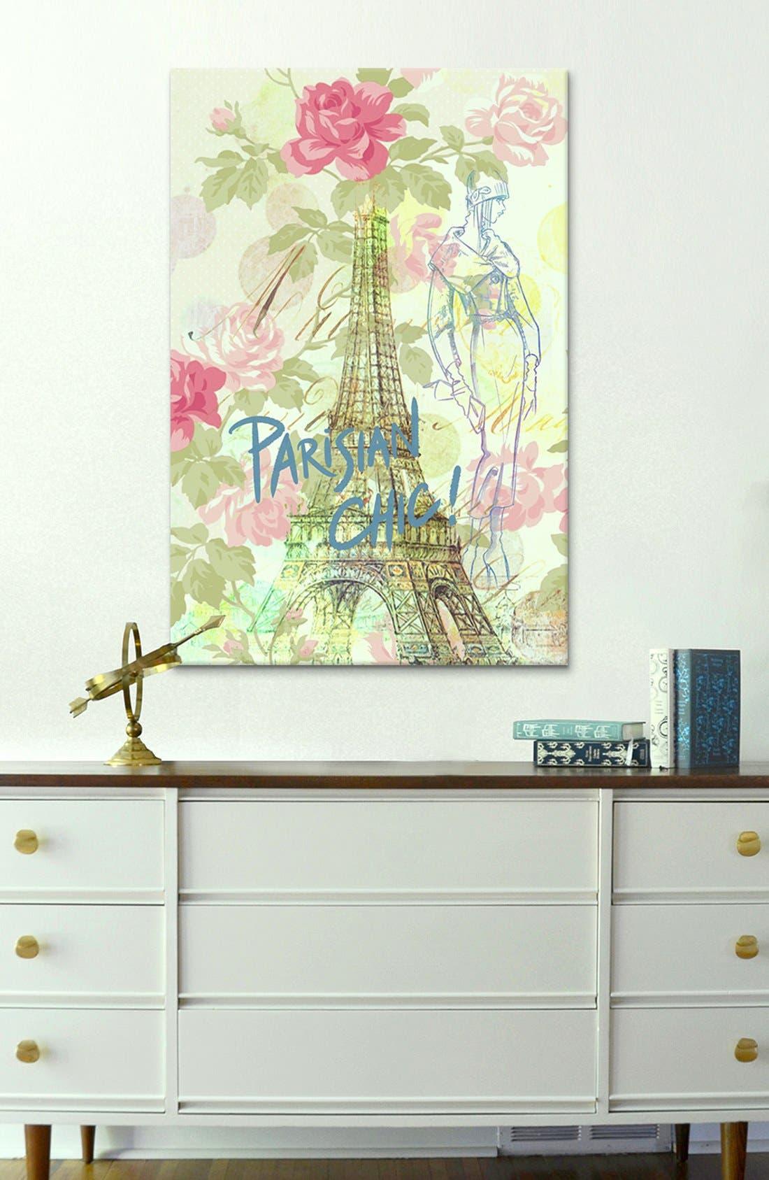 Alternate Image 2  - iCanvas 'Parisian Chic - Guy Jinn' Giclée Print Canvas Art
