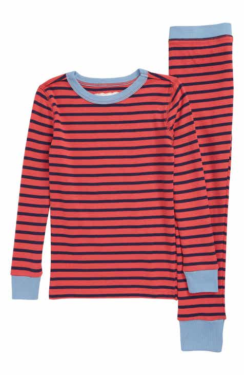 80b6797b89d1 crewcuts by J.Crew Colorblock Stripes Fitted Two-Piece Pajamas (Toddler Boys,  Little Boys & Big Boys)