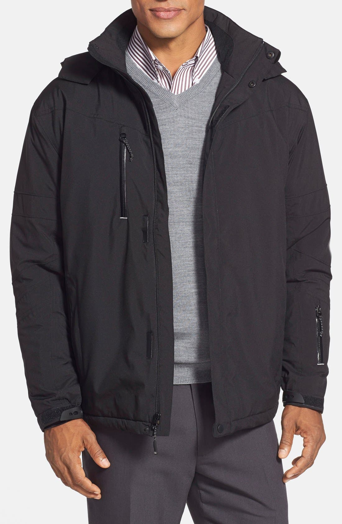 'WeatherTec Sanders' Jacket,                         Main,                         color, Black