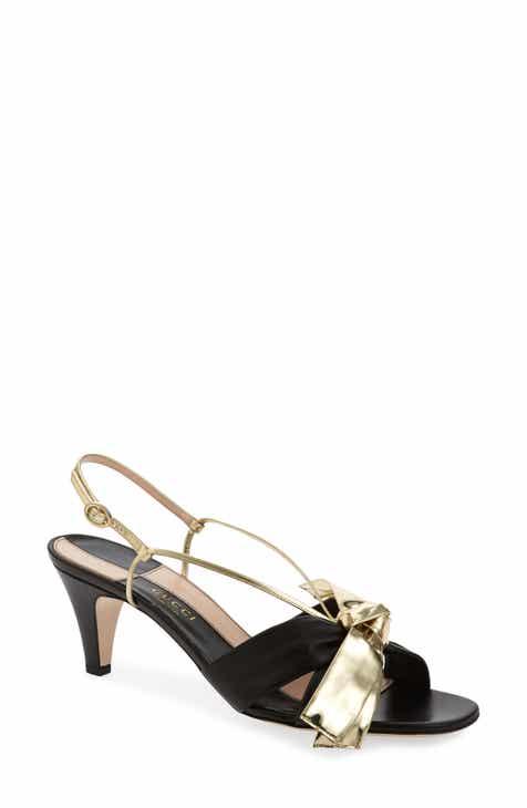 fc35f5d9be70 Gucci Daphne Bow Slingback Sandal (Women)