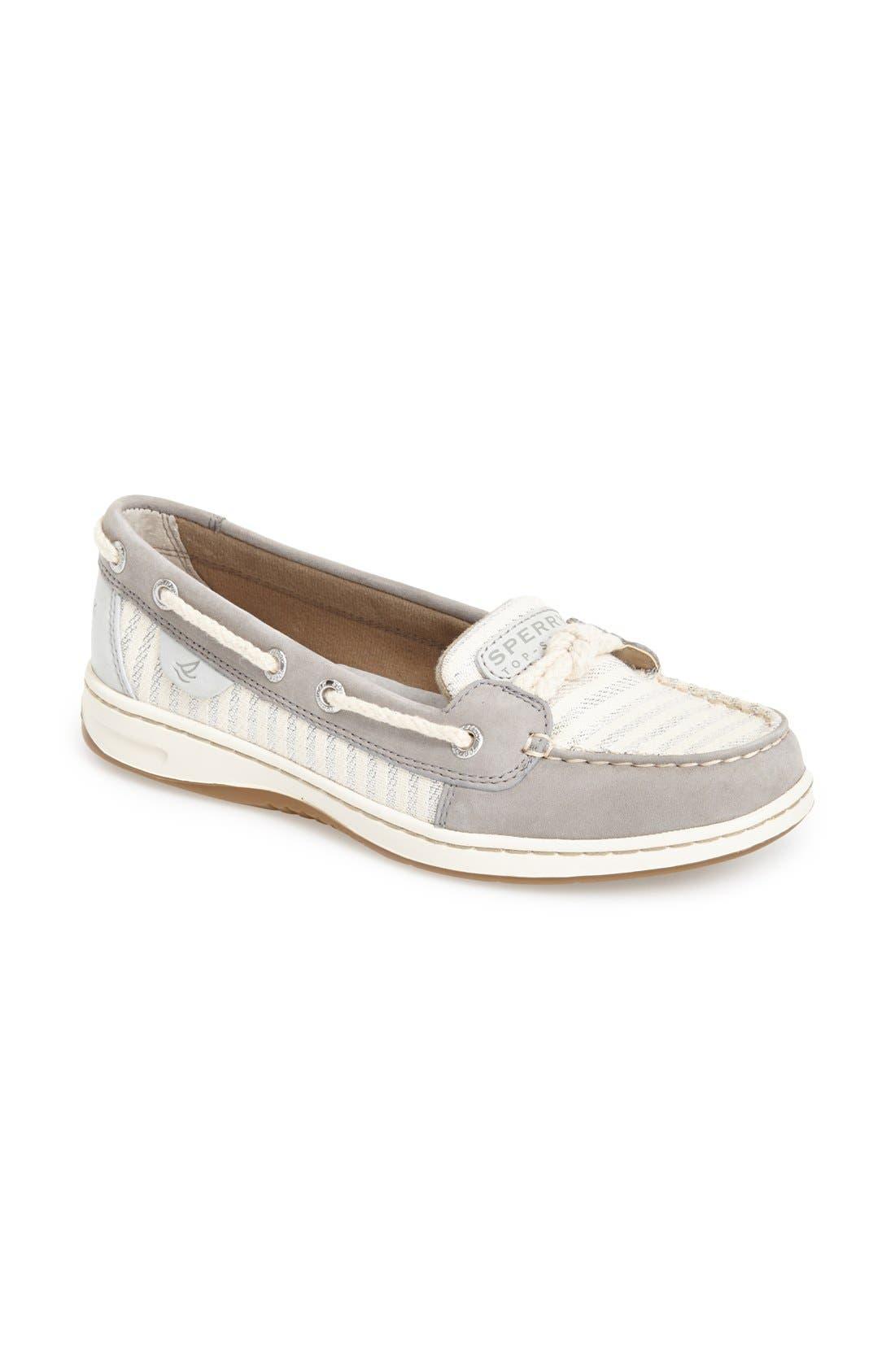 Alternate Image 1 Selected - Sperry 'Cherubfish - Mariner Stripe' Boat Shoe (Women)