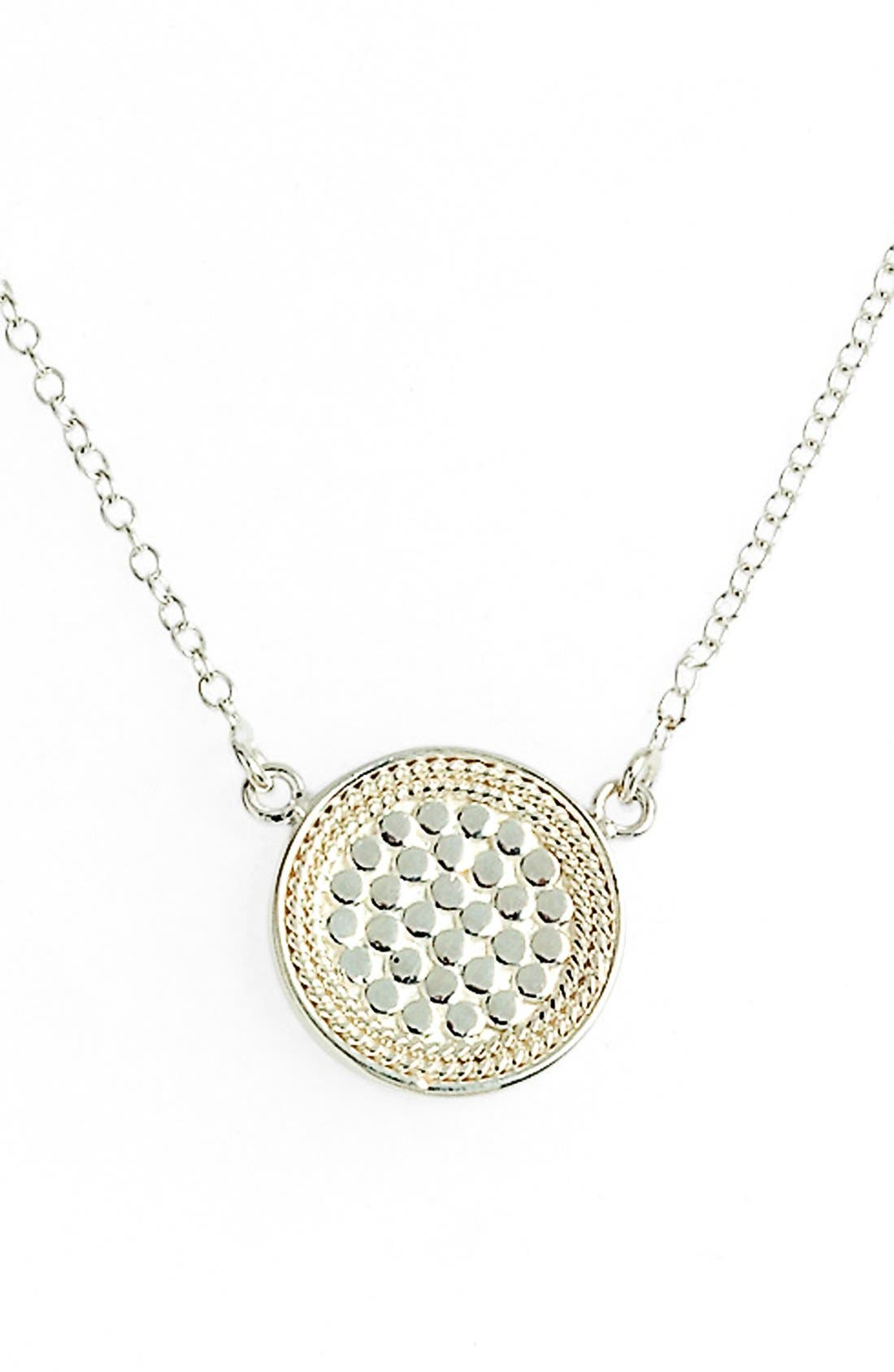 Alternate Image 5  - Anna Beck Gili Reversible Disc Pendant Necklace