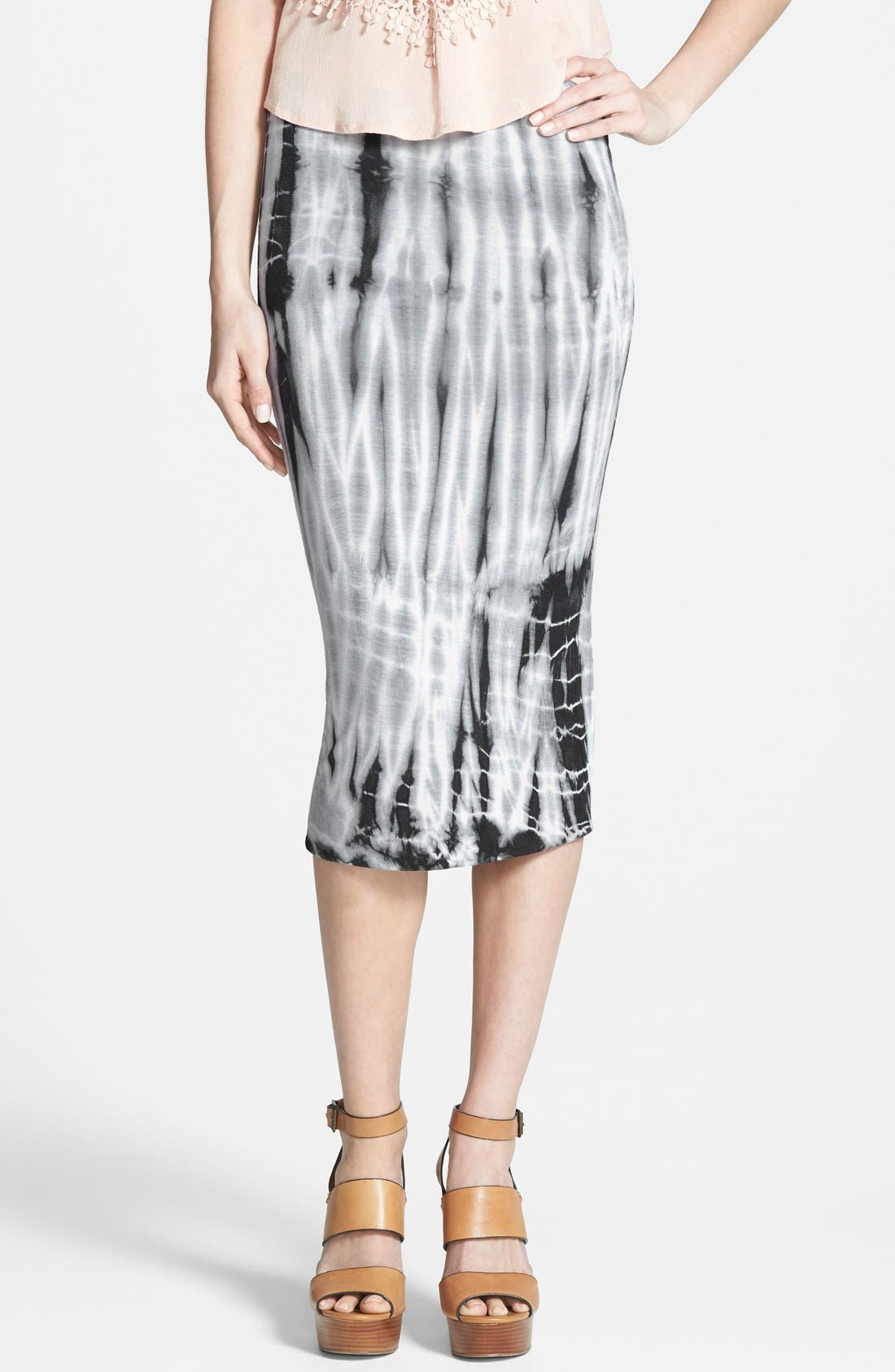 Main Image - Leith Tie Dye Tube Skirt
