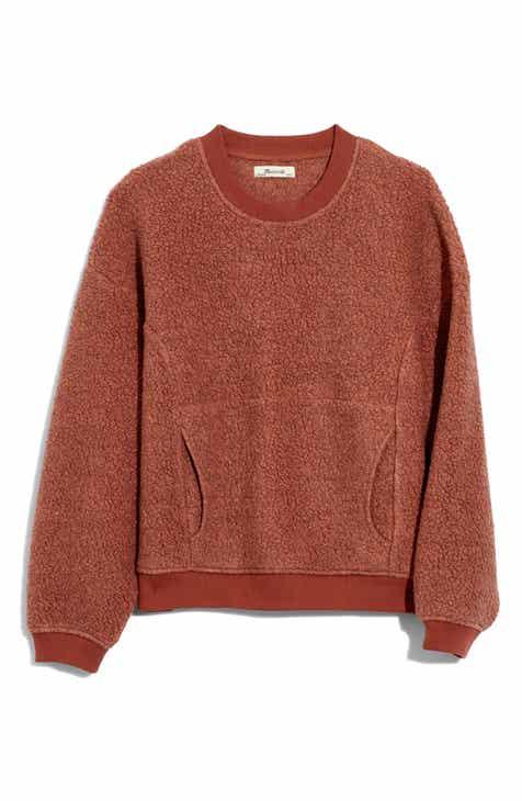 Madewell Recycled Polartec® Fleece Crewneck Sweatshirt