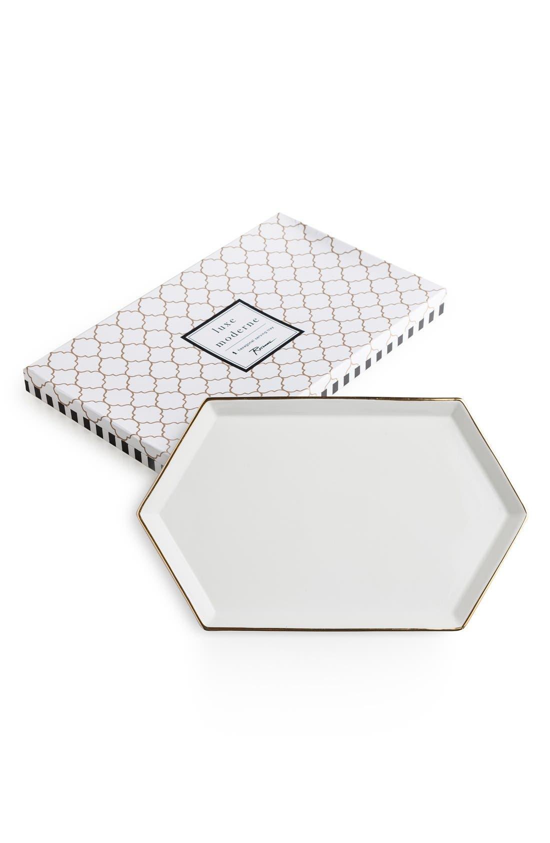 Rosanna 'Luxe Moderne' Hexagonal Tray