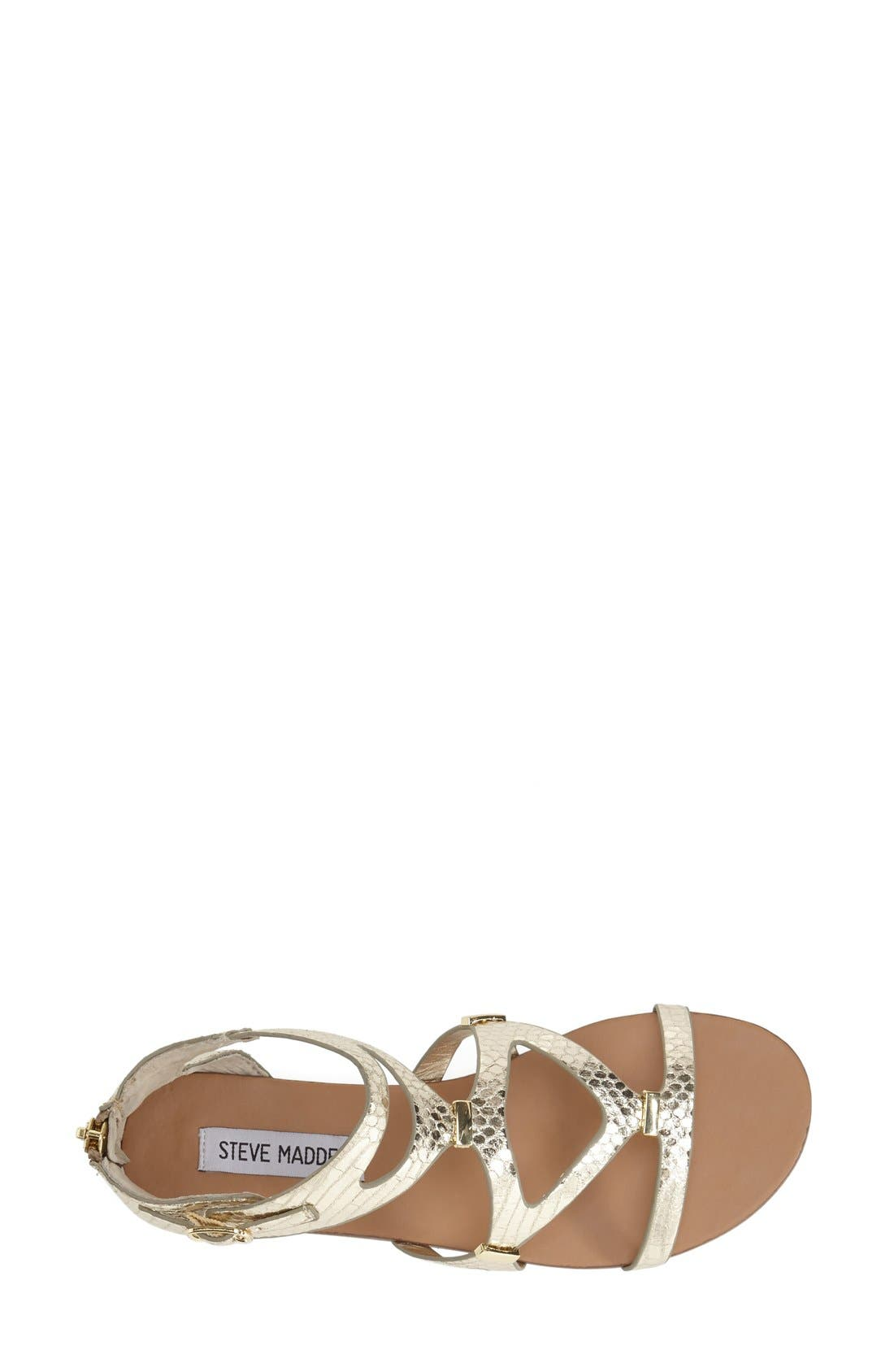 Alternate Image 2  - Steve Madden 'Comly' Gladiator Sandal (Women)
