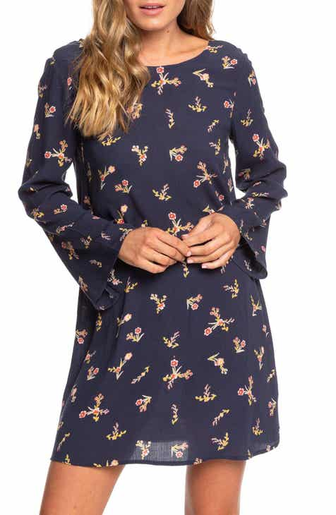 Roxy Dusk Till Down Long Sleeve Dress
