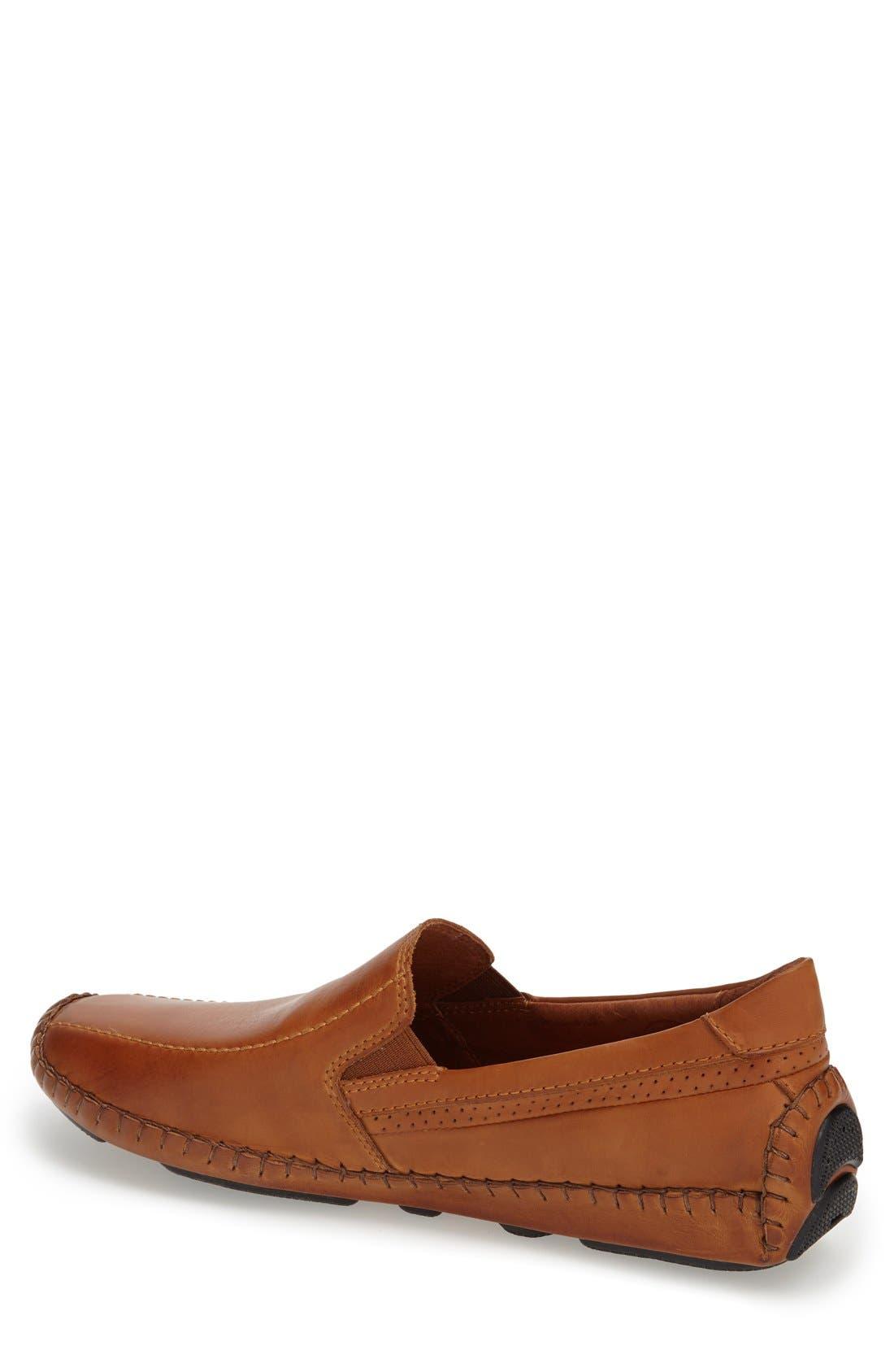 'Jerez' Driving Shoe,                             Alternate thumbnail 2, color,                             Brandy