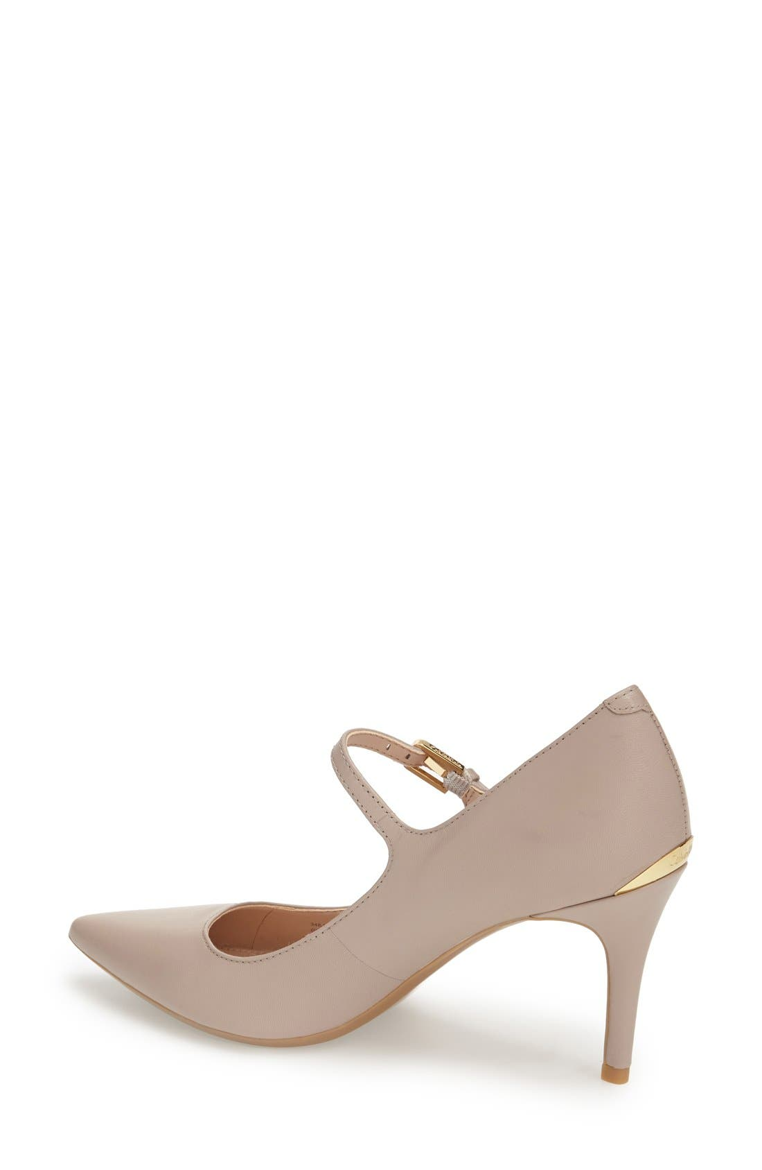 Alternate Image 2  - Calvin Klein 'Genavee' Pointy Toe Pump (Women)