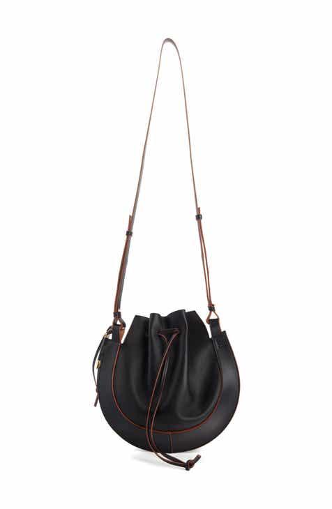 Loewe Horseshoe Leather Crossbody Bag