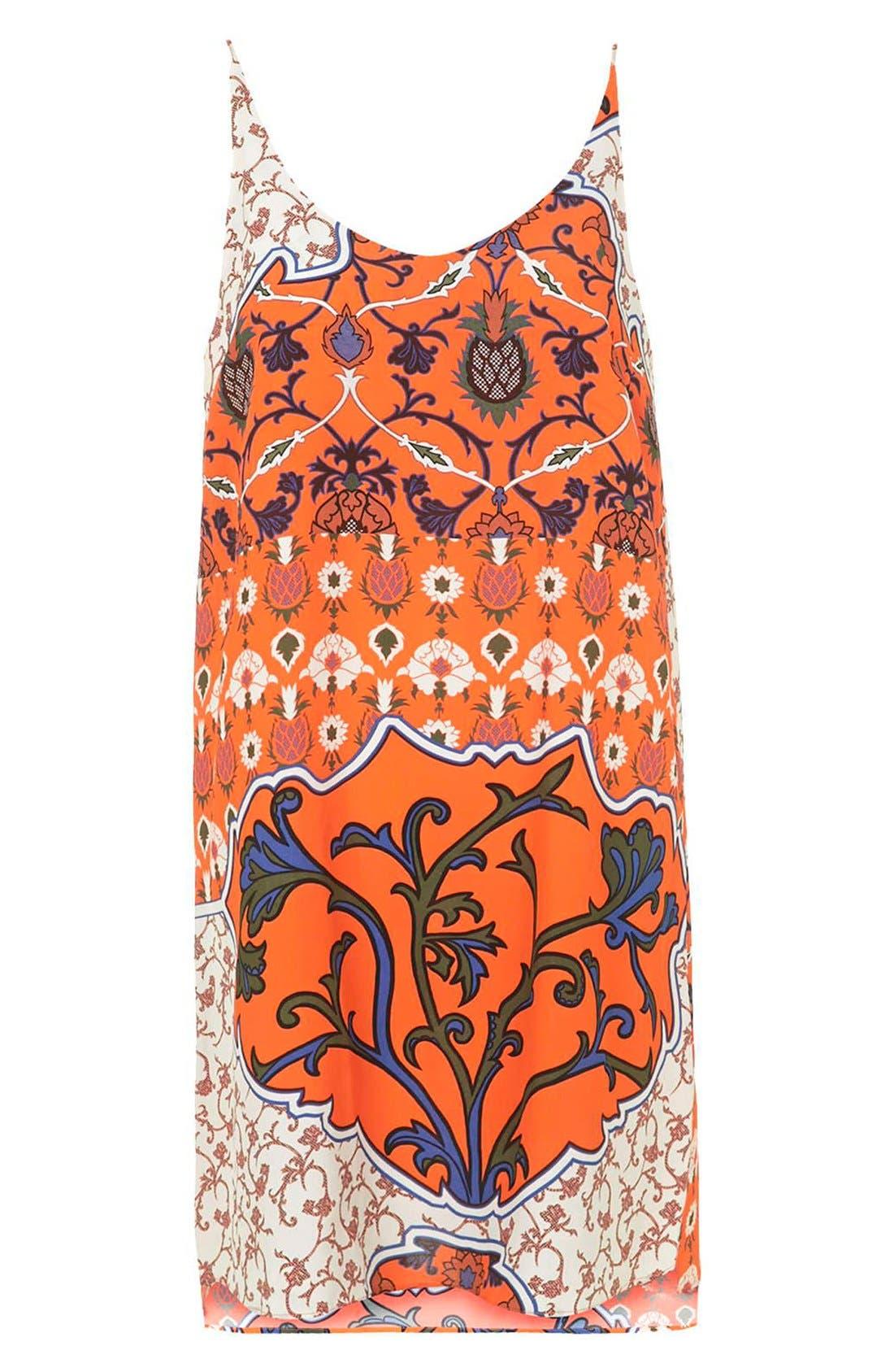 Alternate Image 3  - Topshop Floral Scarf Print Sundress