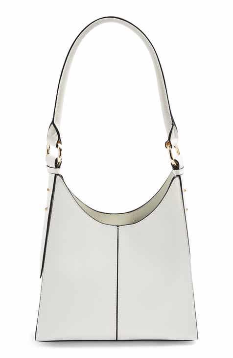 Topshop Ivy Faux Leather Shoulder Bag