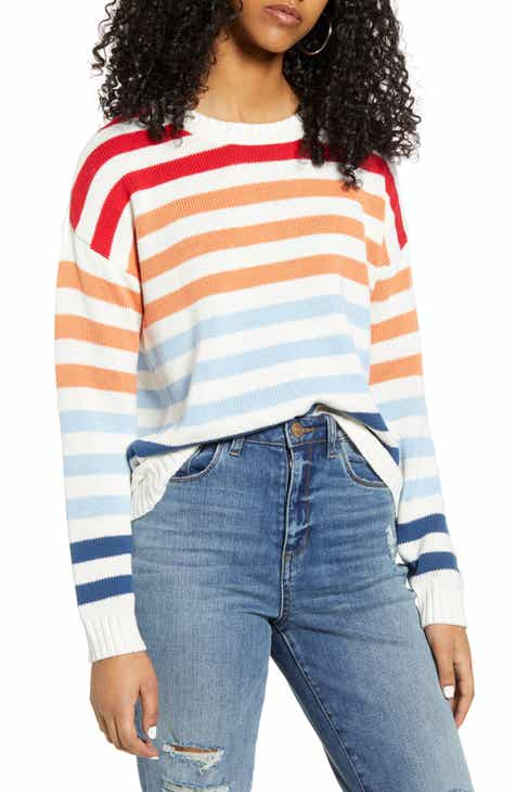 MINKPINK Without a Doubt Stripe Sweater