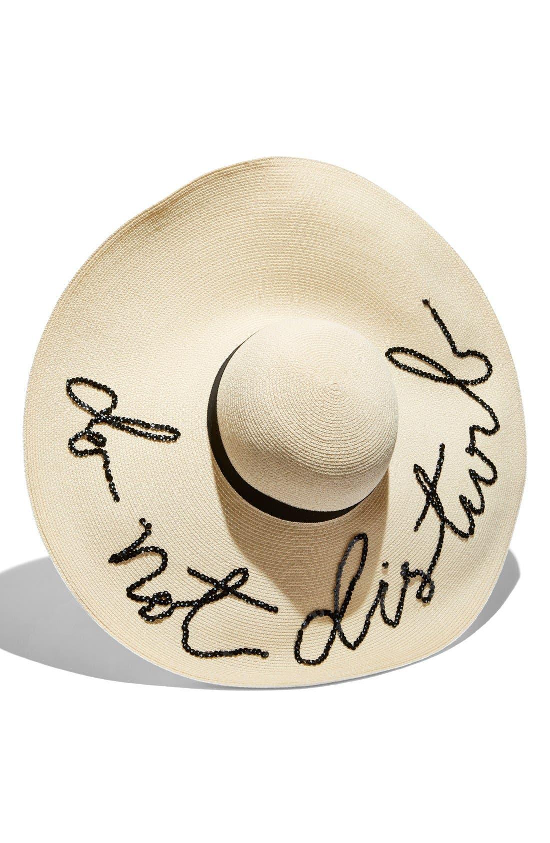 Alternate Image 2  - Eugenia Kim 'Sunny - Do Not Disturb' Straw Sun Hat
