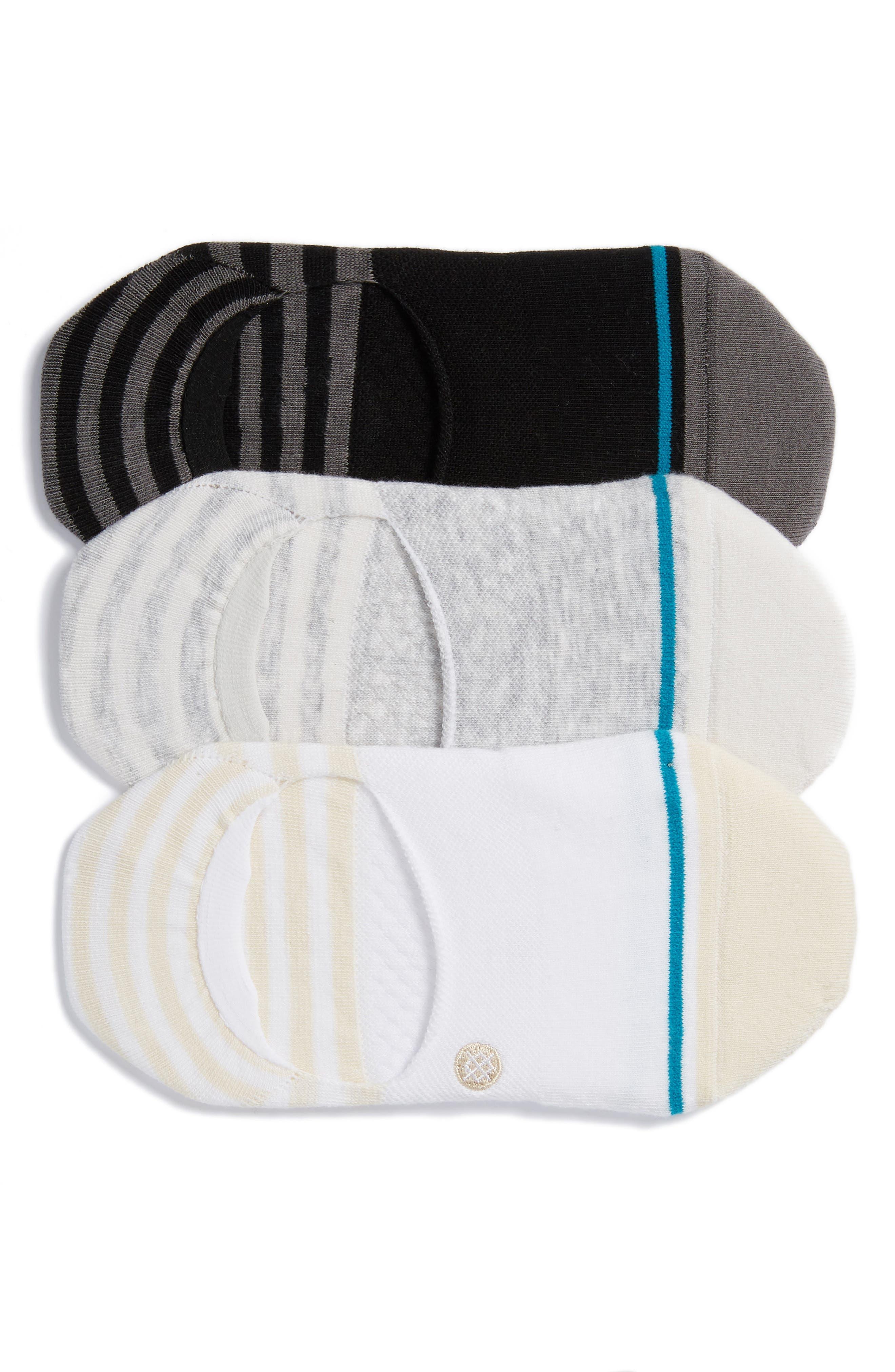 Non-Slip Hidden Invisible Liner Socks FM London 12-Pack Mens No Show Socks
