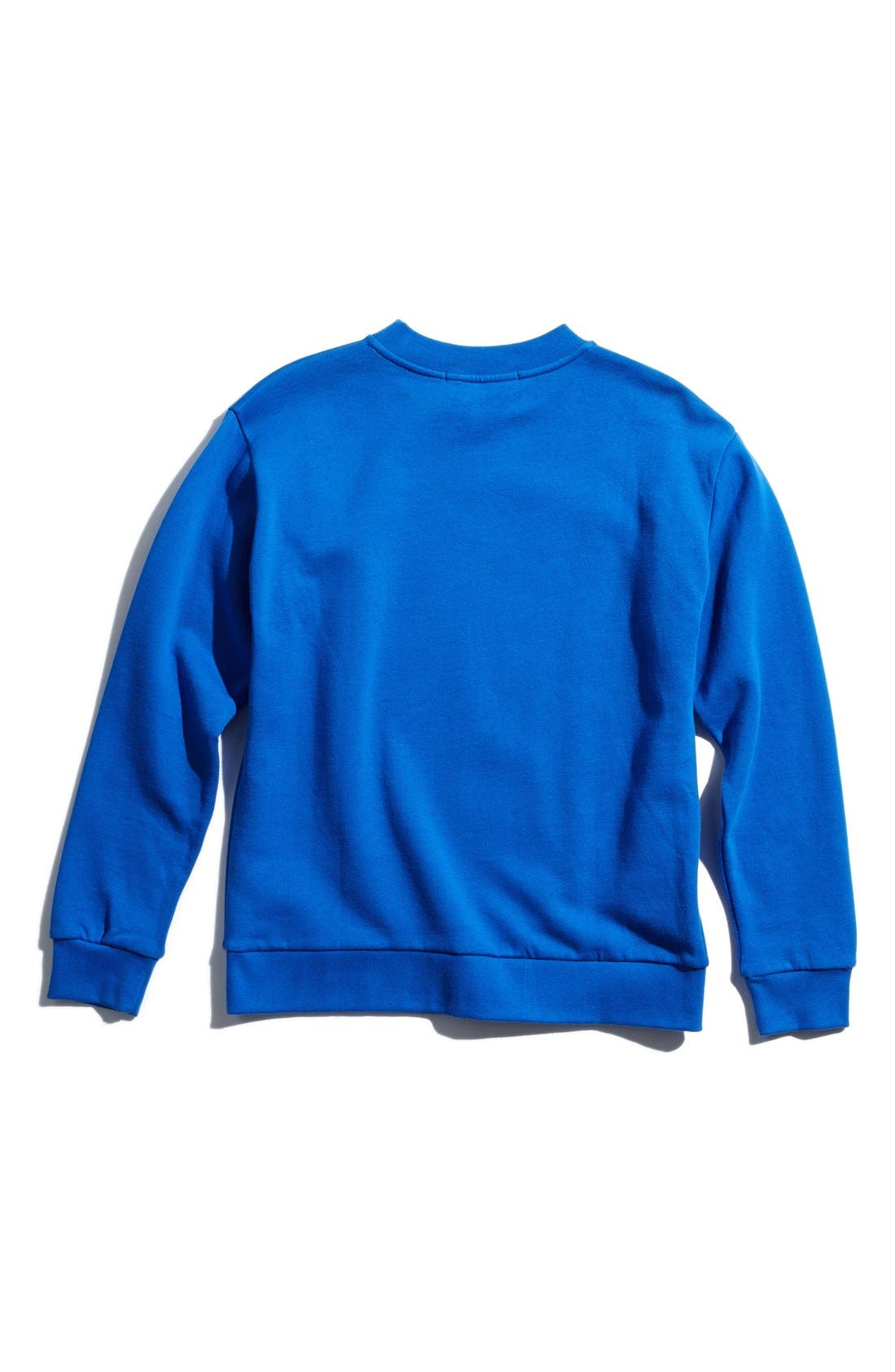 Alternate Image 2  - être cécile 'Big C - Ditsy' Boyfriend Sweatshirt (Women)