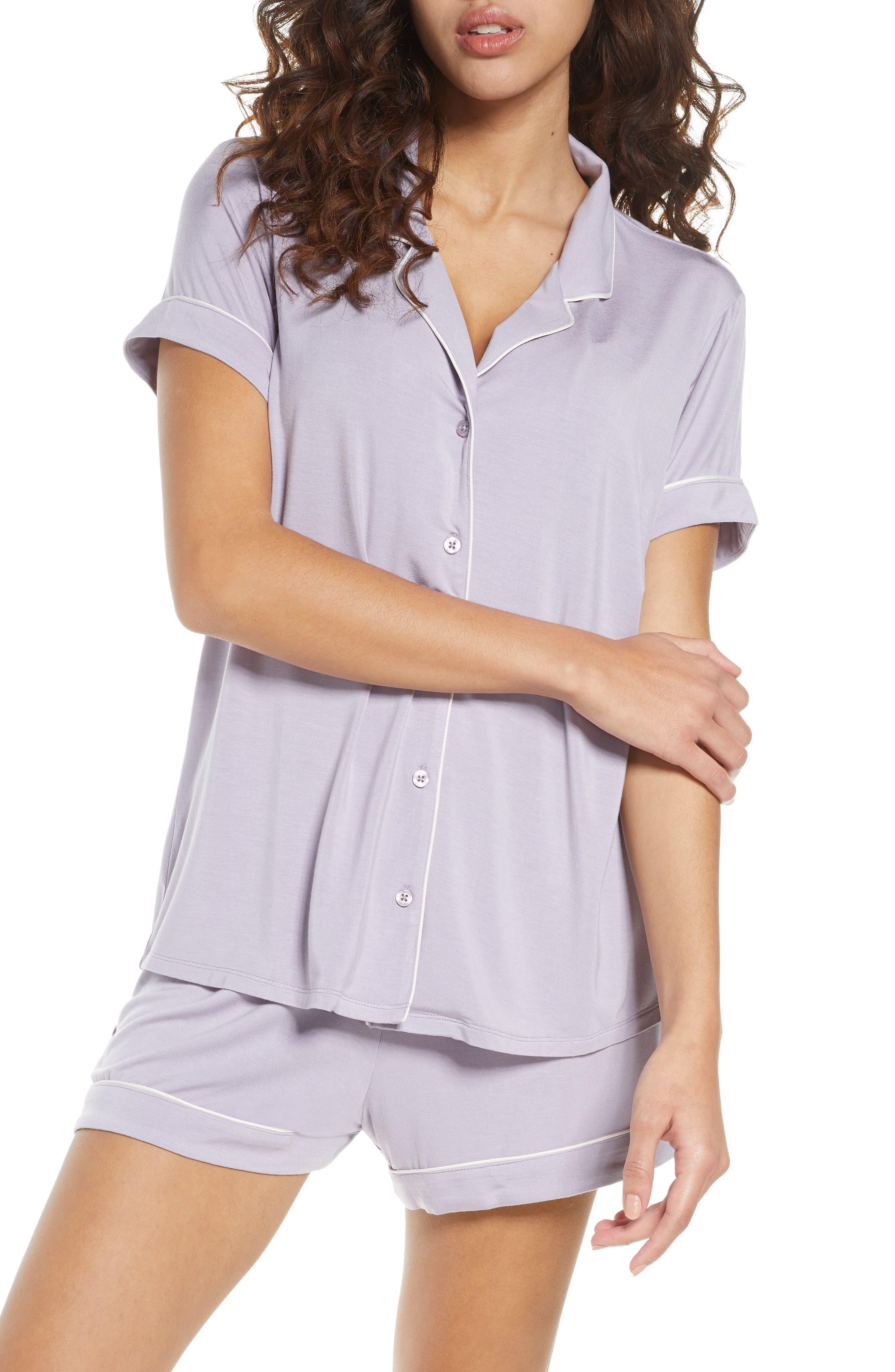 Love Loungewear Juniors I Love You Blush Shorty Valentines Pajamas 100/% Cotton