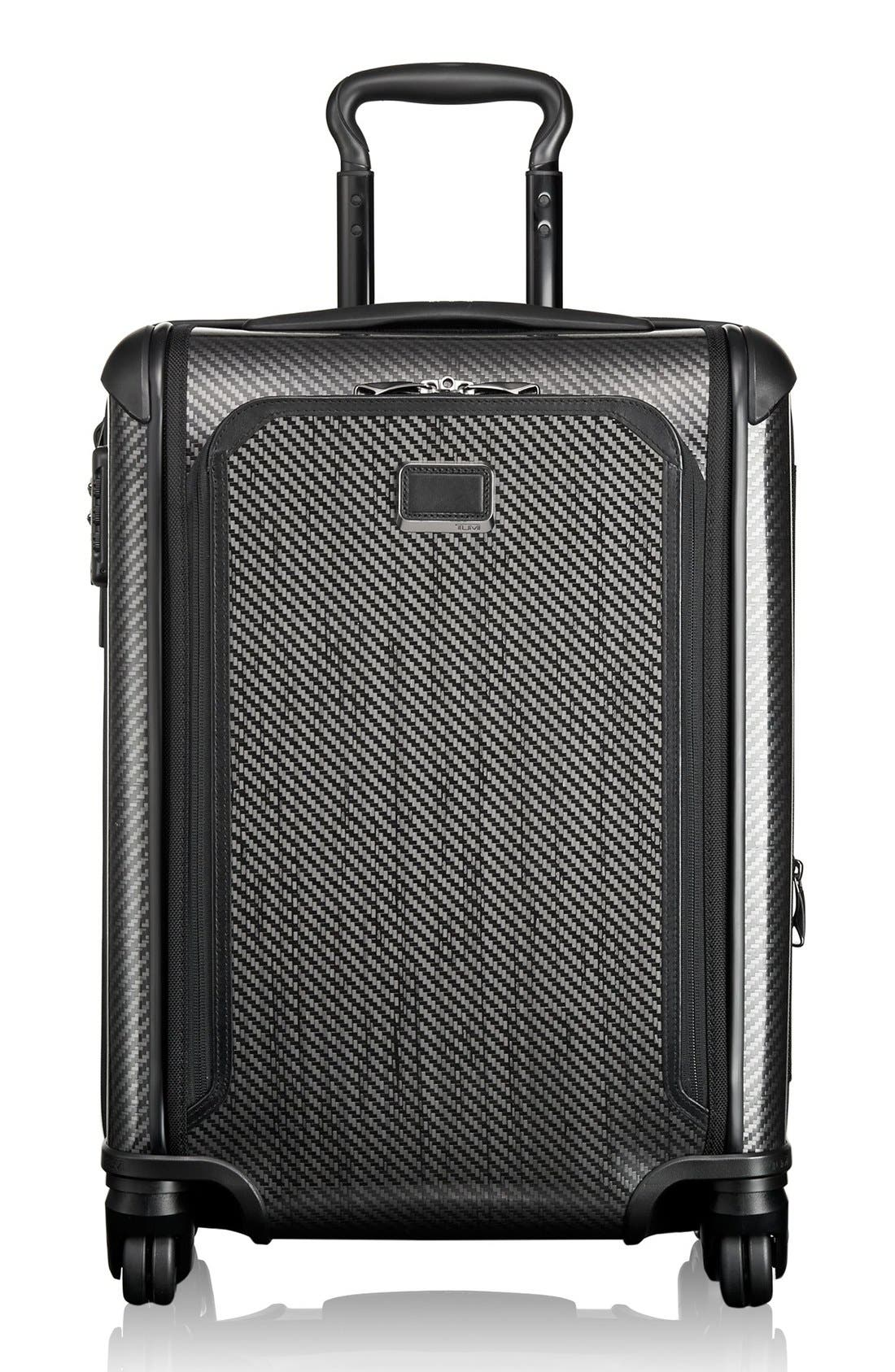 Tegra-Lite<sup>®</sup> Max 22-Inch Continental Expandable Carry-On,                         Main,                         color, Black Graphite