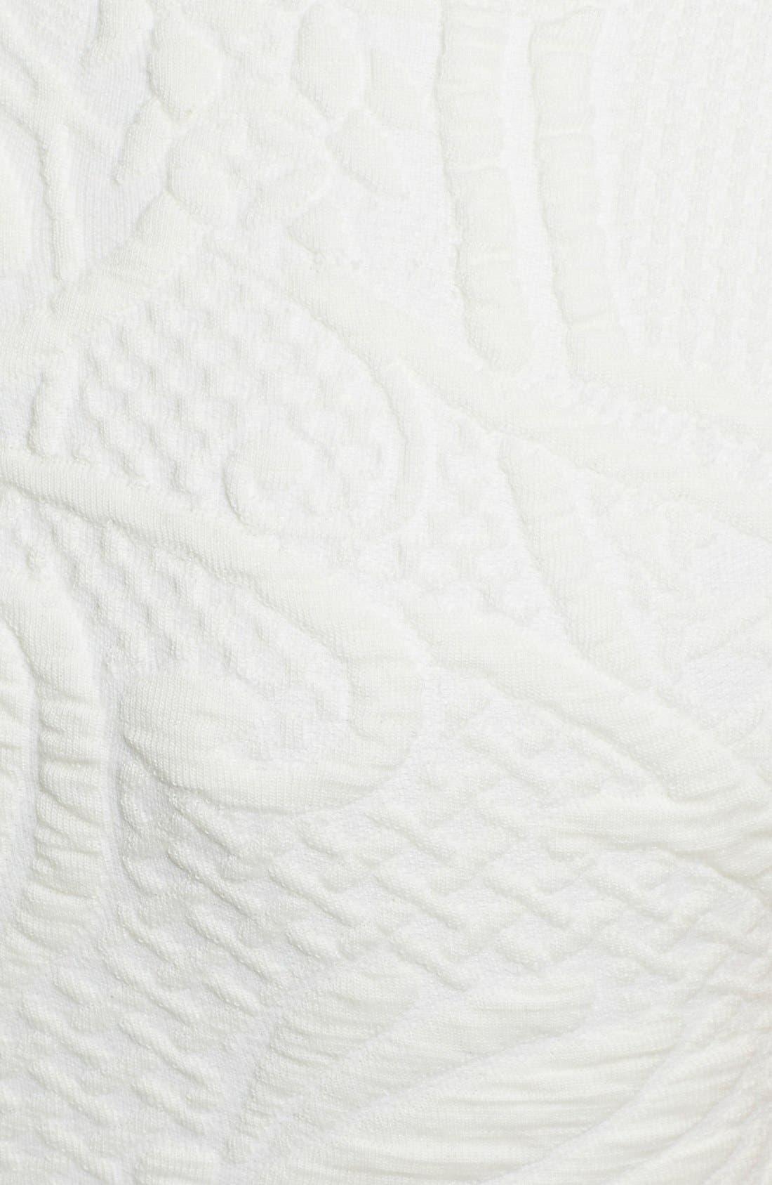 Alternate Image 3  - Ted Baker London 'Sancha' Textured Midi Dress