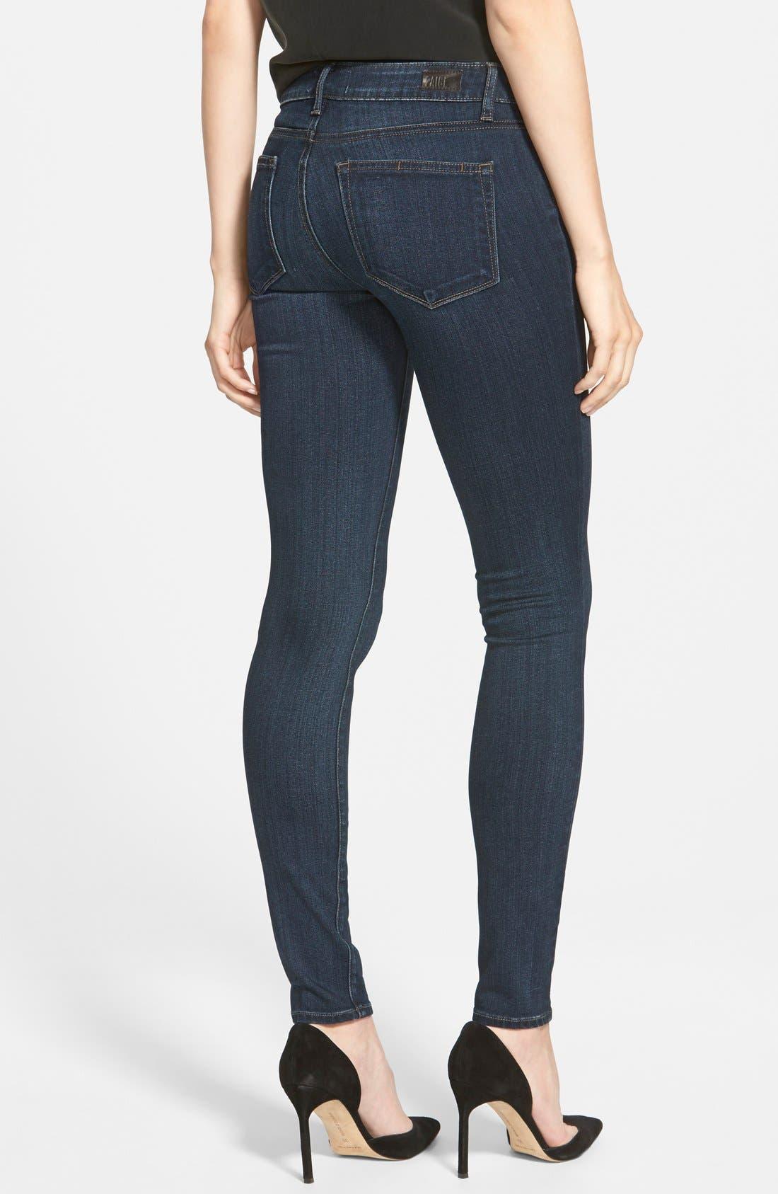 Alternate Image 2  - PAIGE 'Transcend - Verdugo' Ultra Skinny Jeans (Clark)