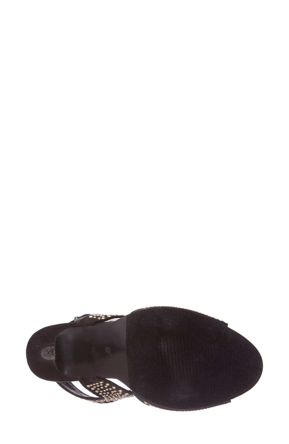 Alternate Image 4  - N.Y.L.A. 'Pemkrook' Studded Cutout Sandal (Women)