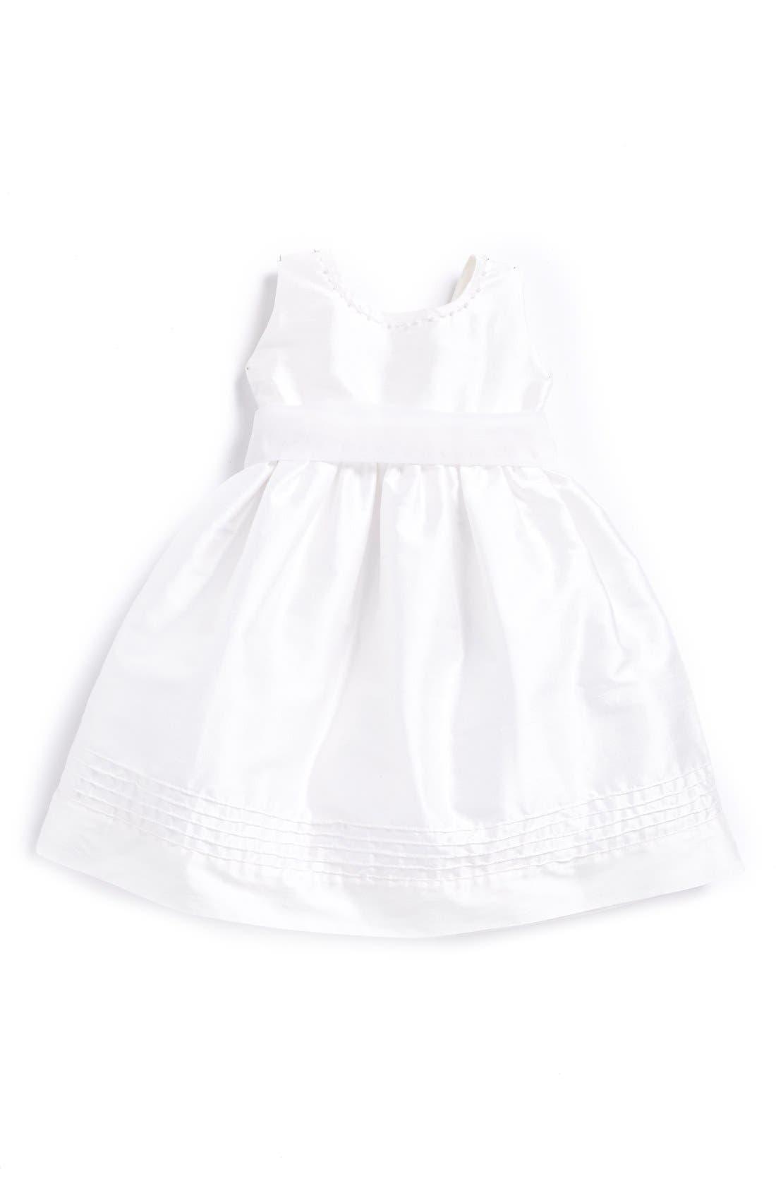 'Melody' Sleeveless Dress,                             Main thumbnail 1, color,                             White