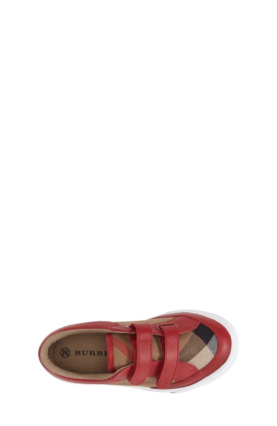 Mini Heacham Sneaker,                             Alternate thumbnail 3, color,                             Parade Red