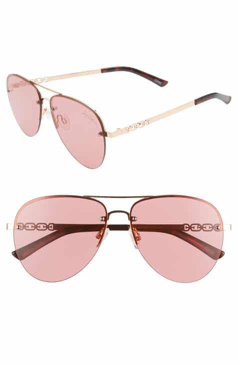 Sam Edelman 56mm Aviator Sunglasses