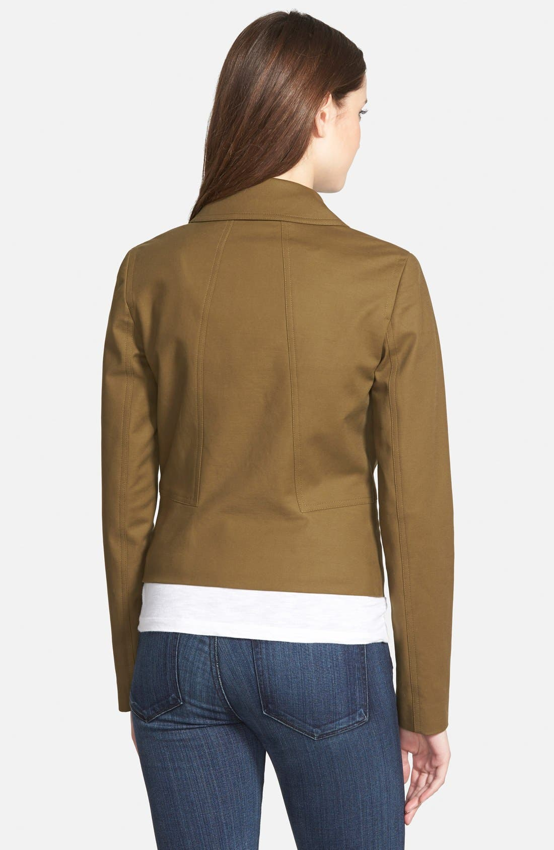 Alternate Image 2  - MICHAEL Michael Kors Paneled Utility Jacket (Regular & Petite)