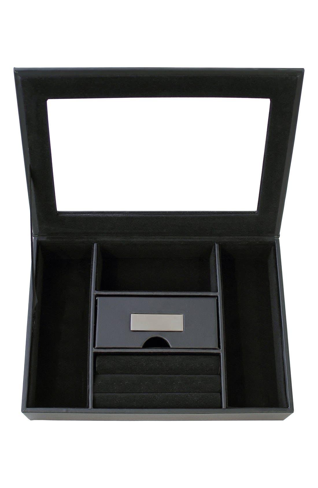 Main Image - Cathy's Concepts Monogram Valet Box