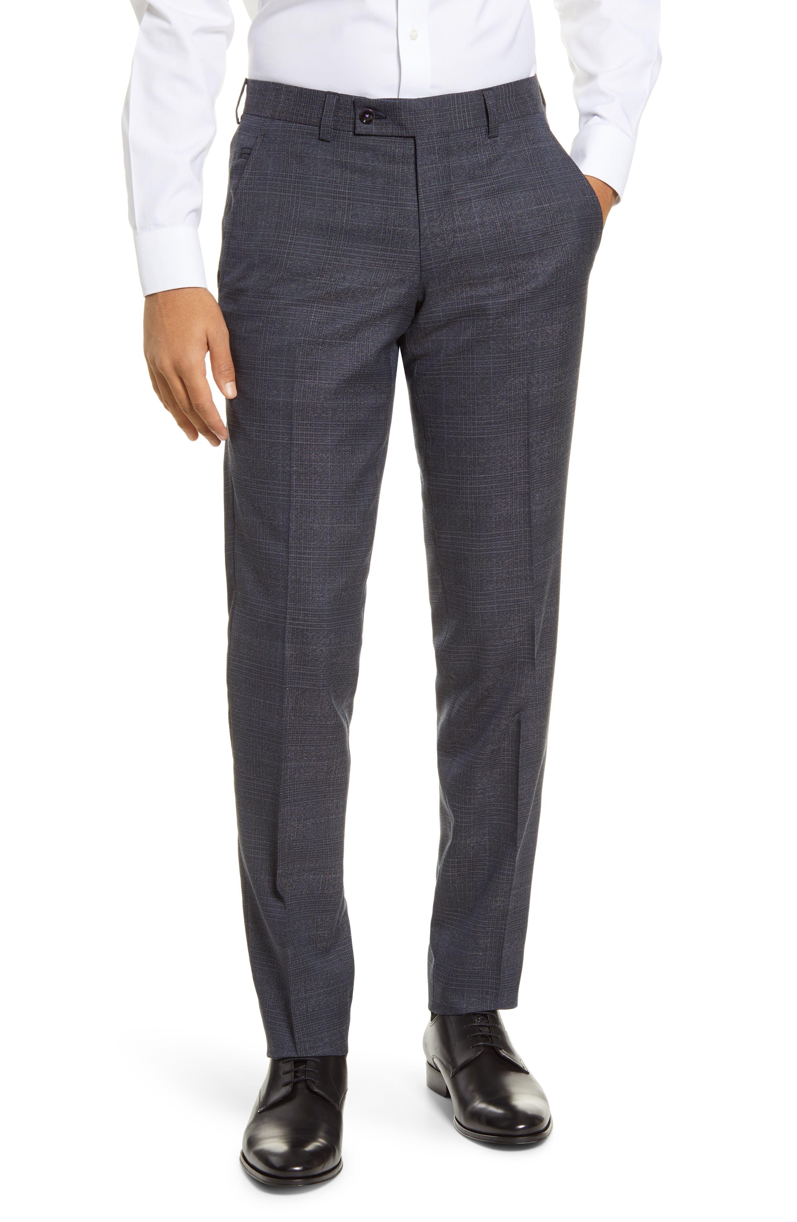 Murano 100/% Linen Casual Dress Pants Men Flat Front W 30 32  33 34 36 L 32 New