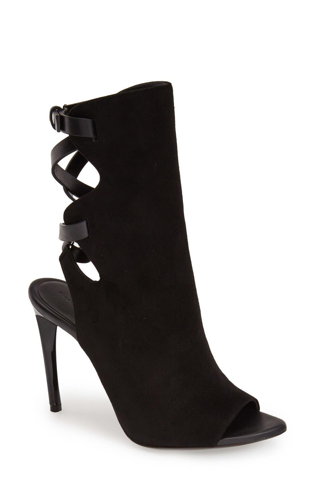 Alternate Image 1 Selected - Proenza Schouler 'Selvino' Peep Toe Boot (Women)