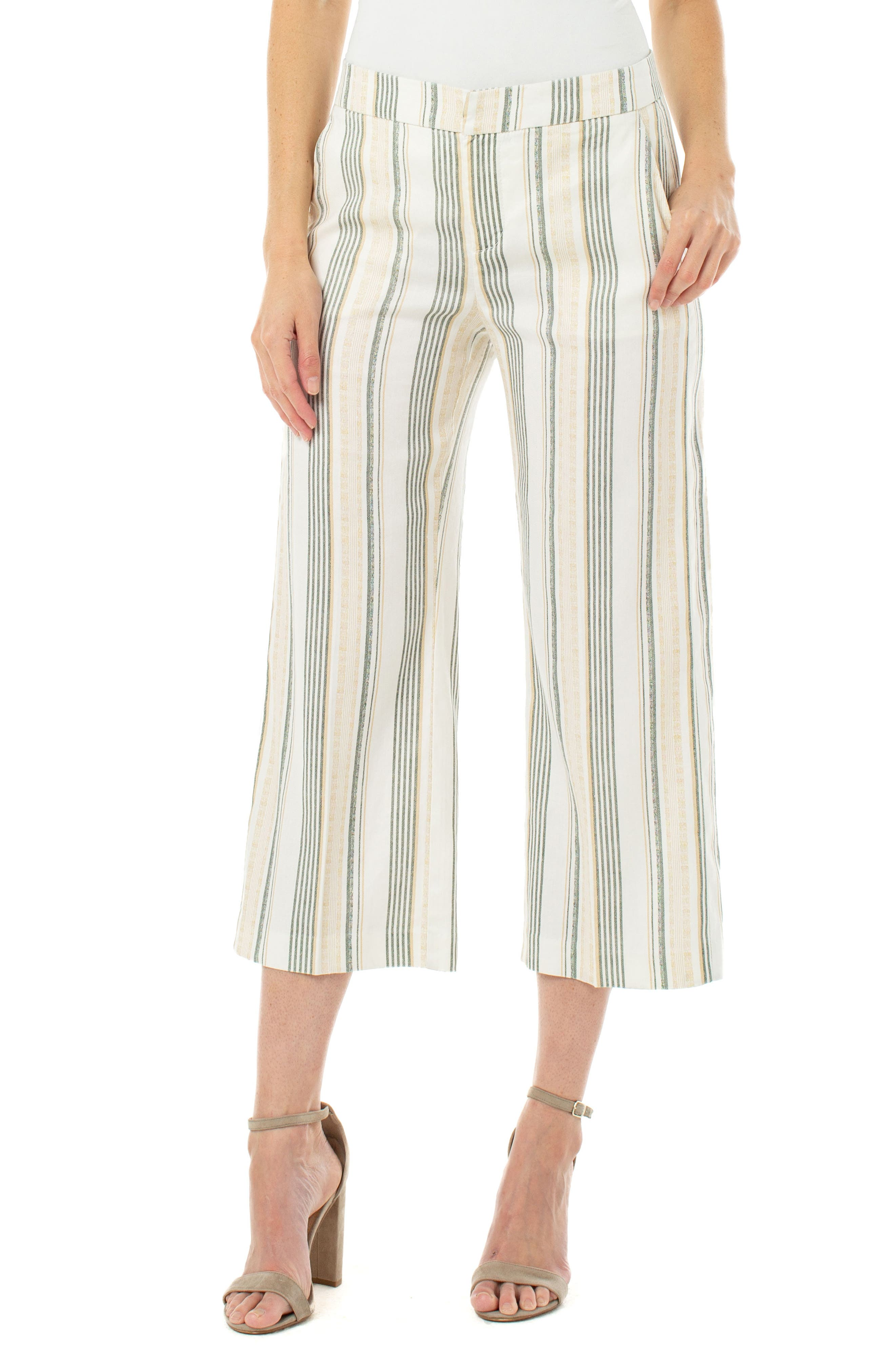 Hope /& Henry Girls Wide Leg Cropped Pull-On Pant