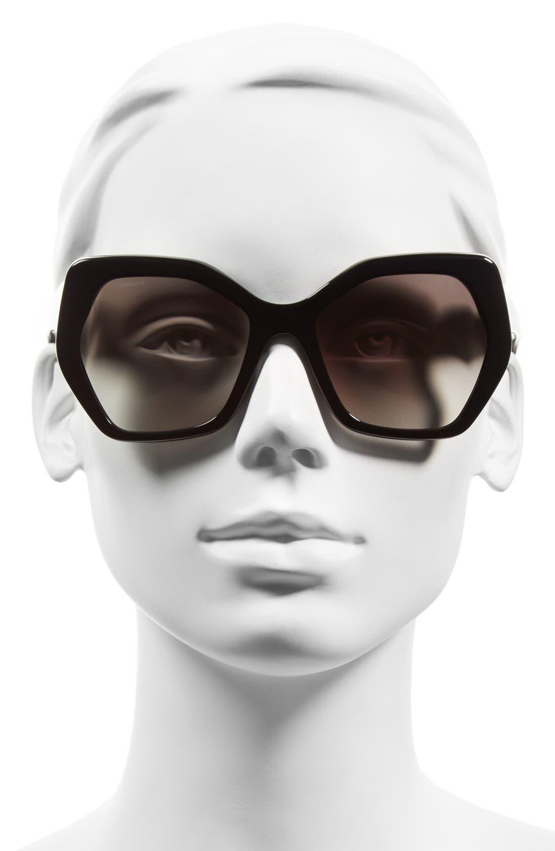 Alternate Image 2  - Prada Heritage 56mm Sunglasses
