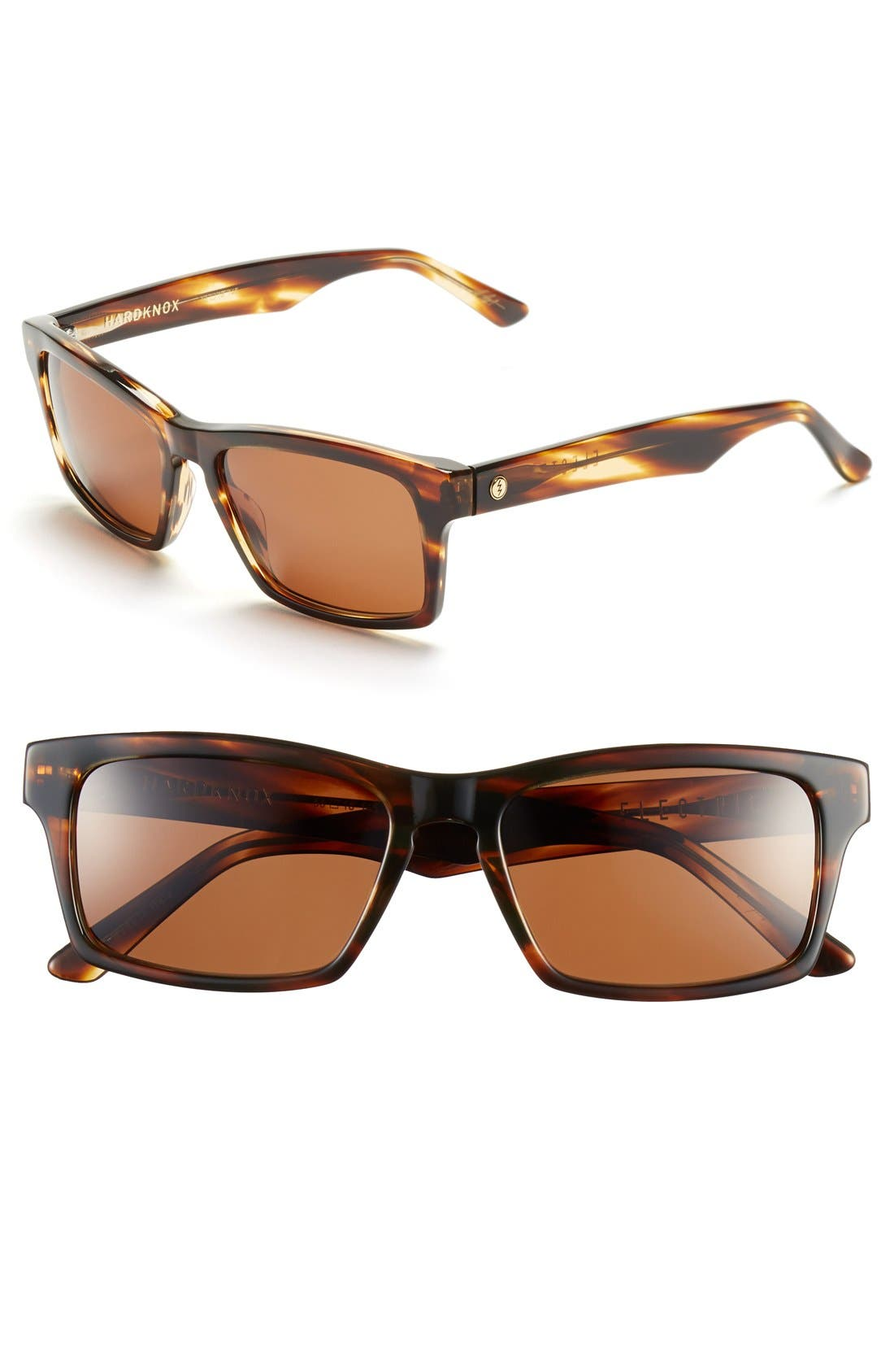 'Hardknox' 56mm Sunglasses,                         Main,                         color, Tortoise Shell/ Bronze