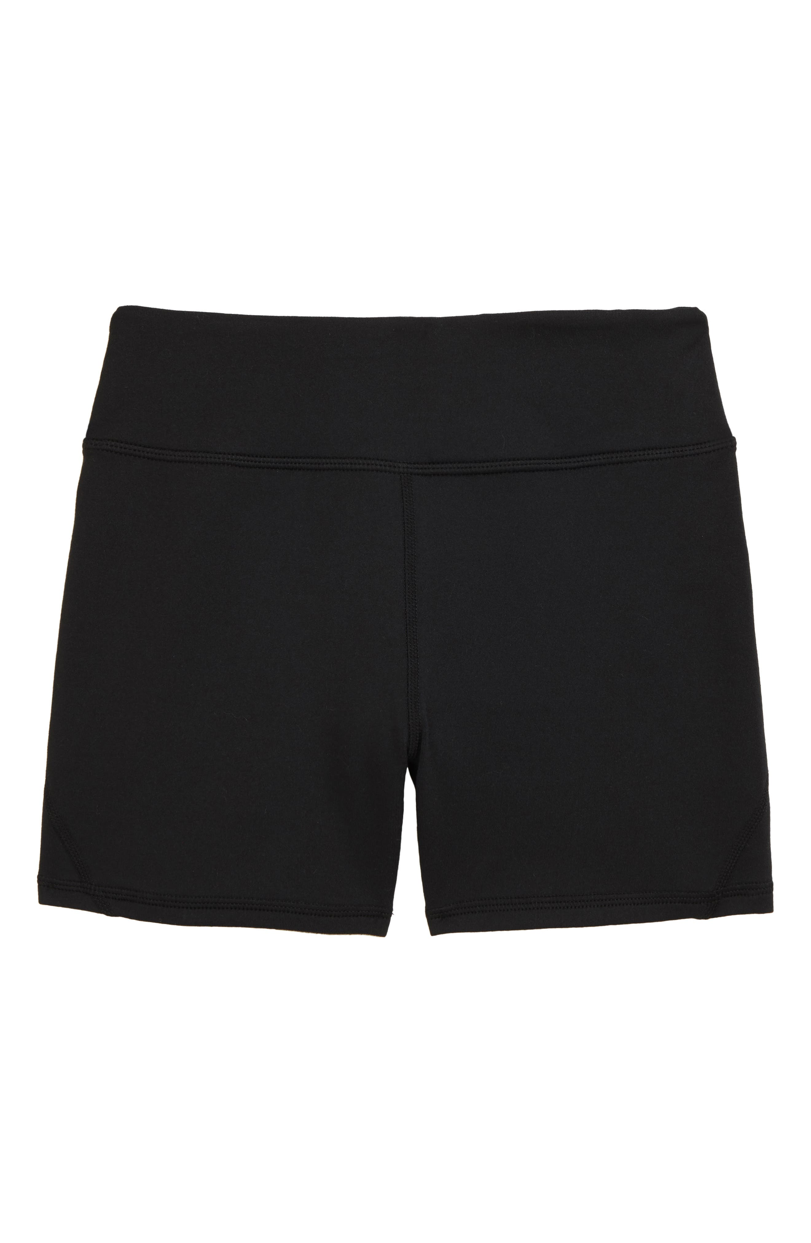 renvena Kids Girls Soft Cotton Elastic Waistband Athletic Training Shorts Gym Exercise Activewear Casual Wear