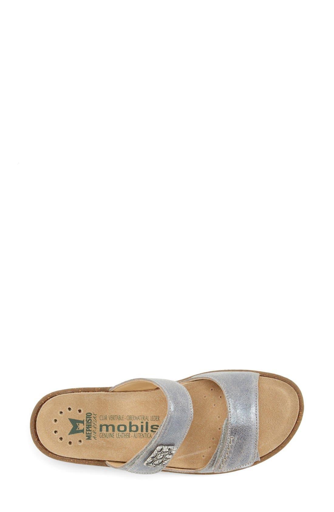 Alternate Image 3  - Mephisto 'Bregalia' Metallic Leather Sandal (Women)