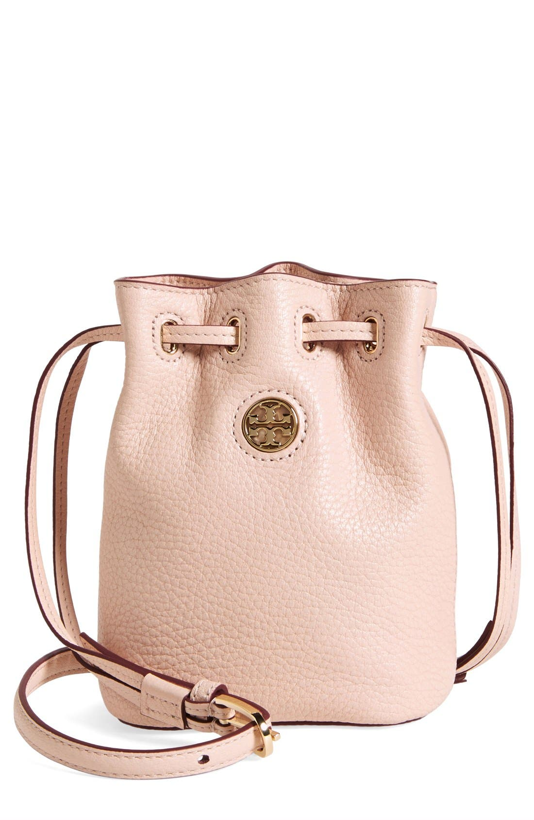 Alternate Image 1 Selected - Tory Burch 'Mini Brody' Crossbody Bucket Bag