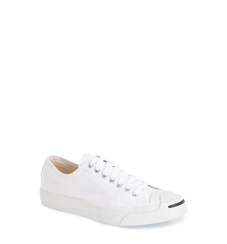099043c126a4bf Converse Jack Purcell Signature Canvas Sneakers In White
