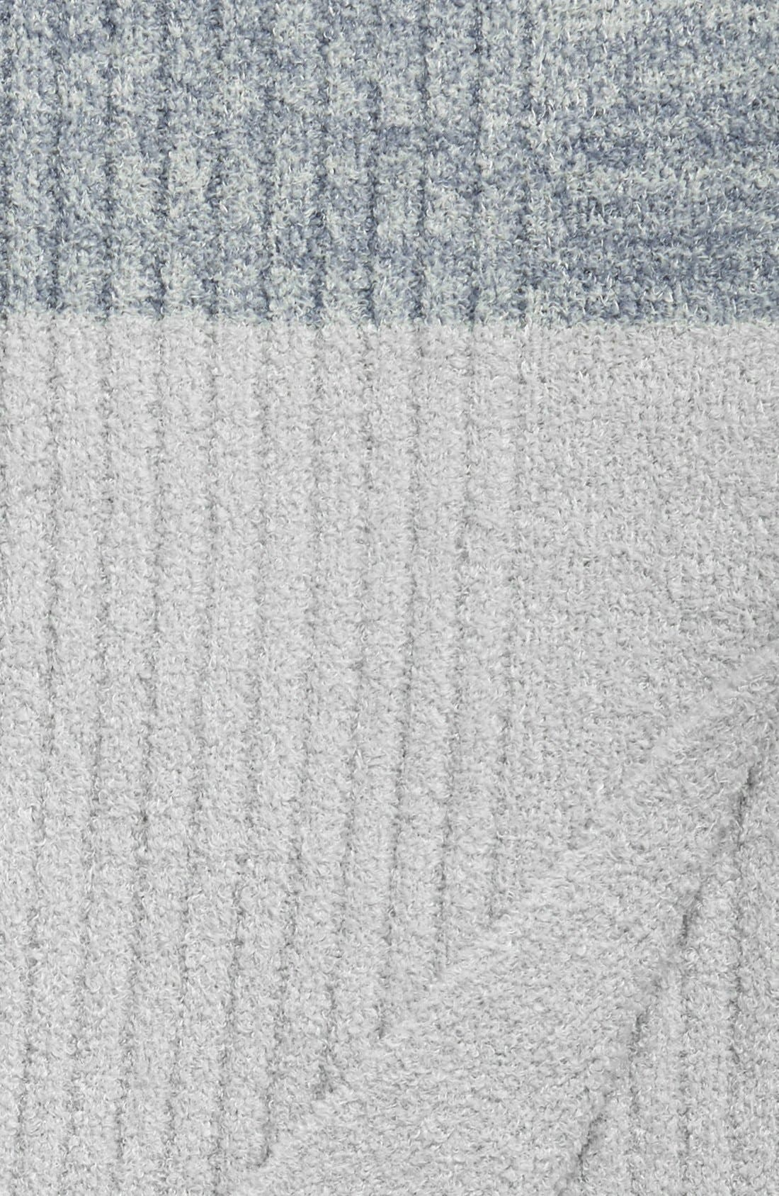 Alternate Image 3  - Barefoot Dreams® Heathered Stripe Throw