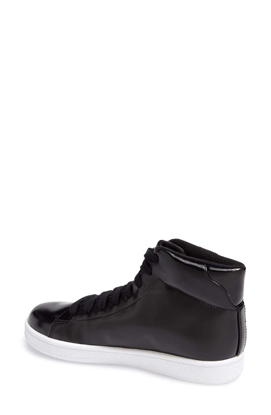 Alternate Image 2  - Jeffrey Campbell 'Player' High Top Sneaker (Women)