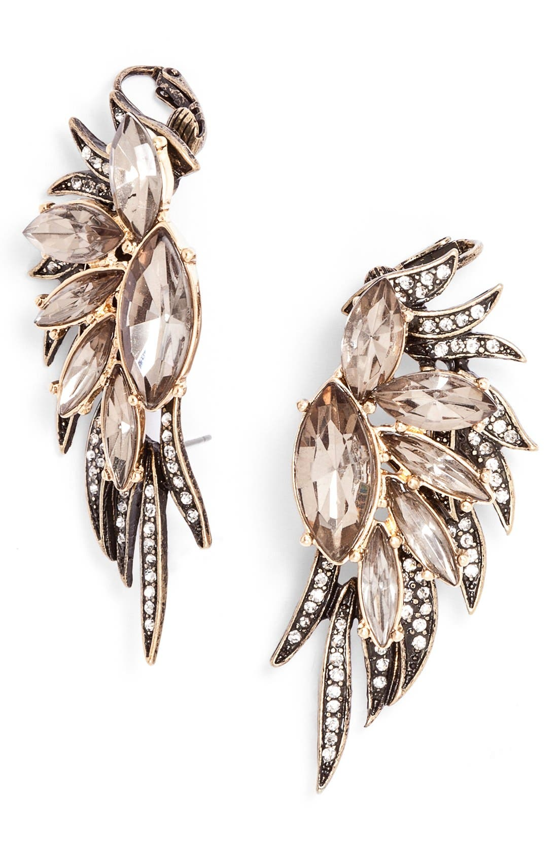 Alternate Image 1 Selected - BaubleBar 'Phoenix Wing' Ear Cuffs
