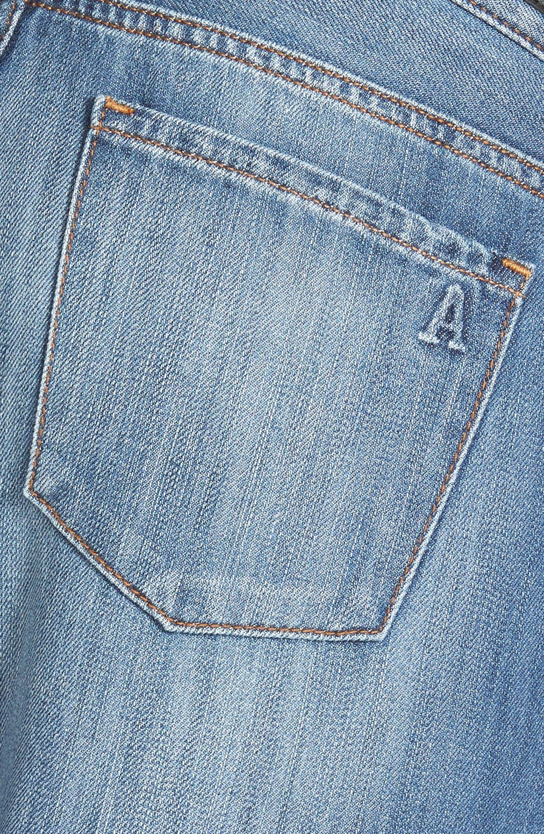 Alternate Image 3  - Articles of Society 'Cindy' Boyfriend Jeans (Medium Wash)