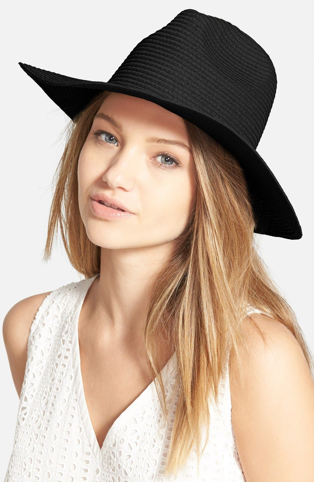 Alternate Image 2  - Madewell Pieced Straw Hat